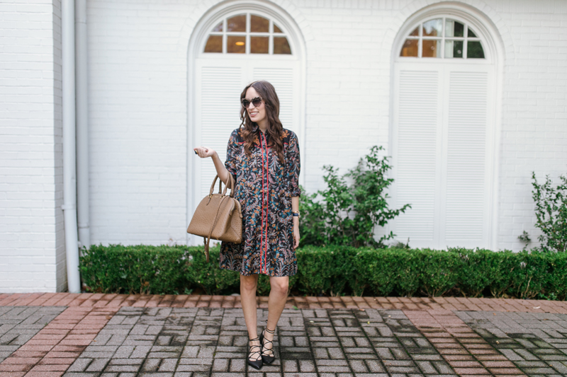 Lone Star Looking Glass is Anthropologie's Escalante Western Shirtdress.
