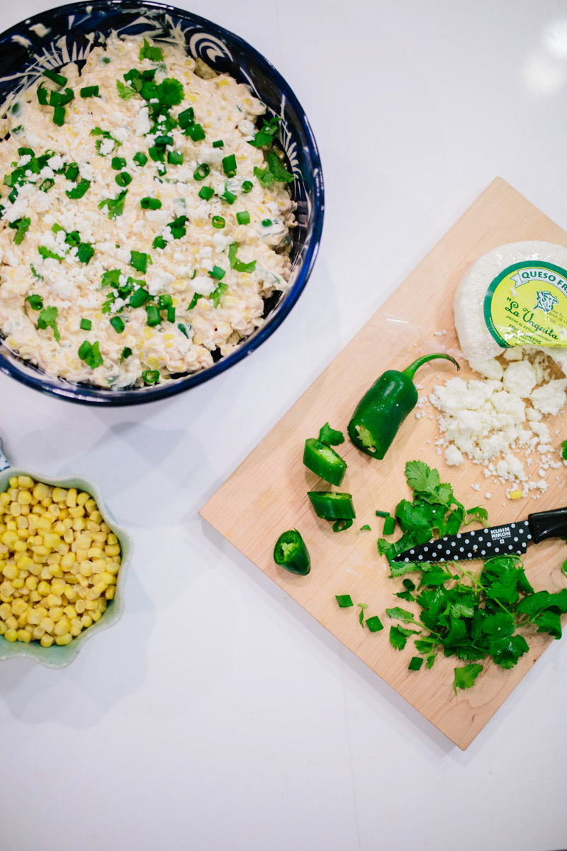 Recipe for Mexican Street Corn Dip