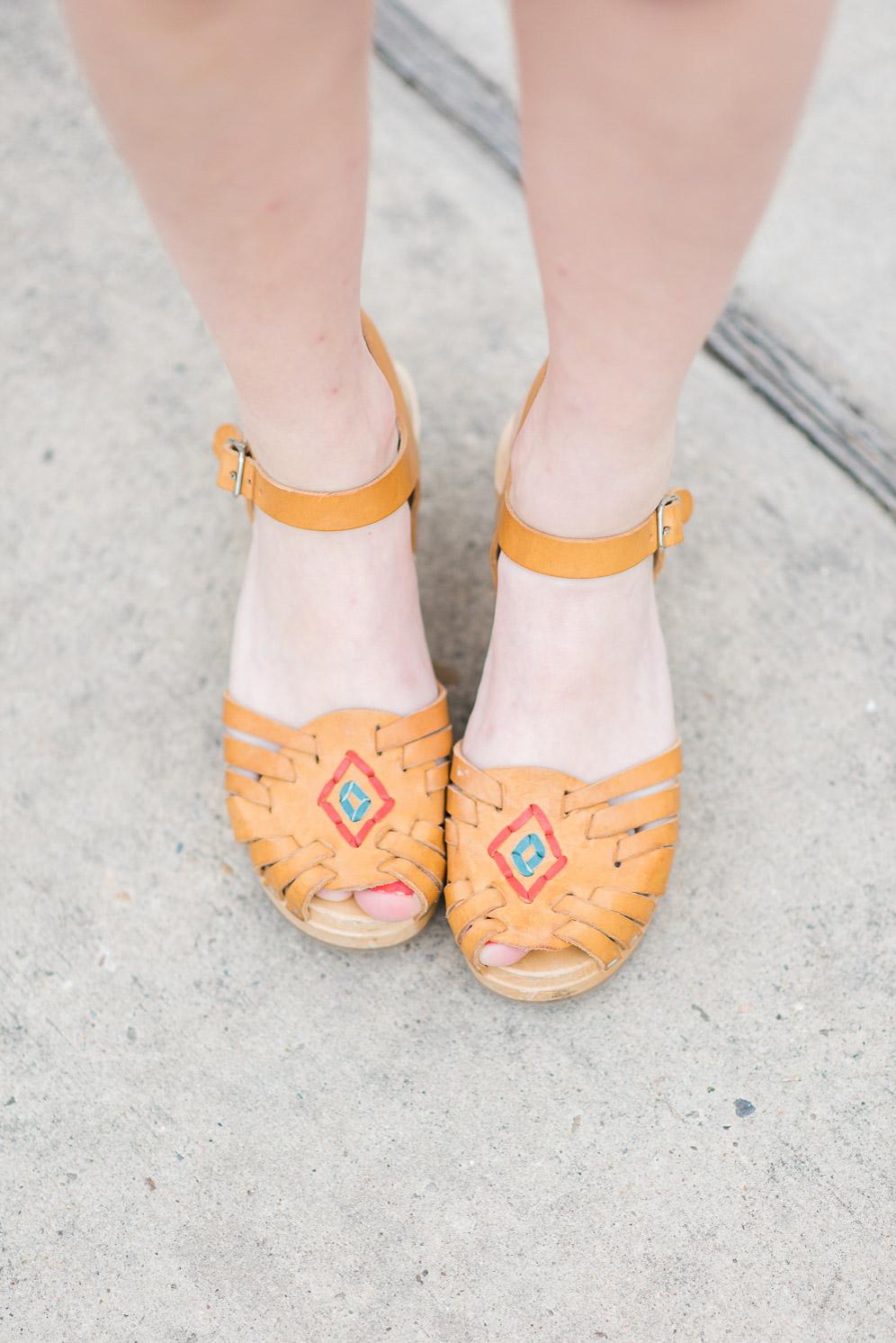 Swedish Hasbeens Hurrache Sandals