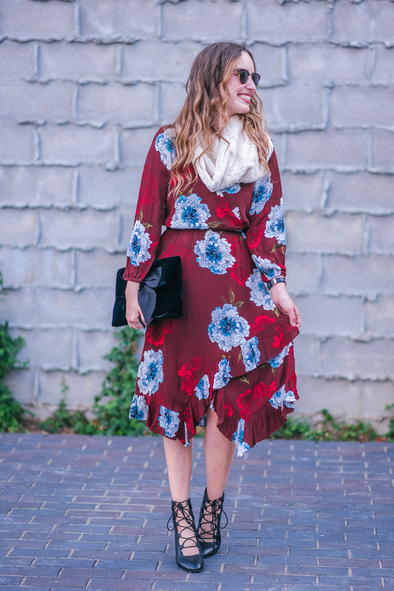 66363c07a763 This floral dress by Tracy Reese from Anthropologie (is 30% off today)  comes in four different prints & in a silhouette that is flattering on  almost any and ...