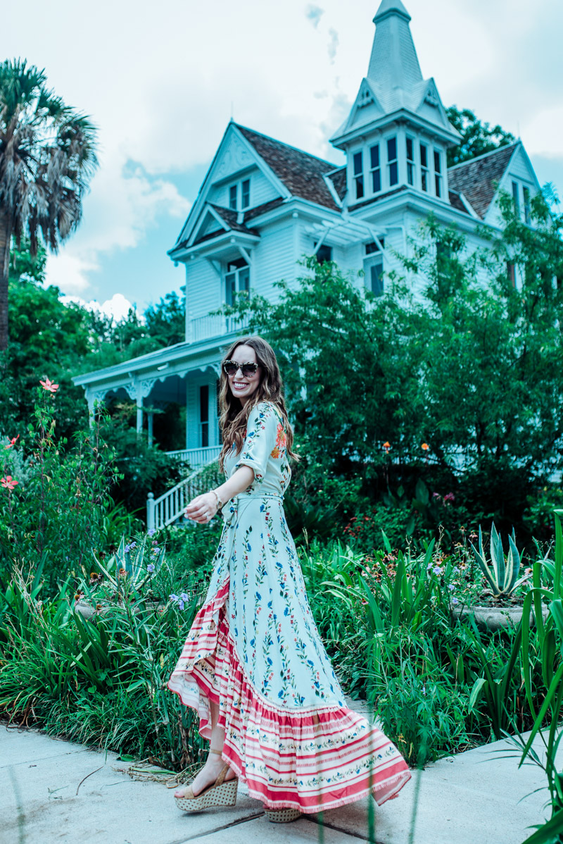 Floral Maxi Dress Fashion Lone Star Looking Glass