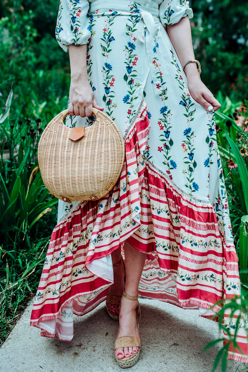 057988192fb4b Floral Maxi Dress featured by top US fashion blog Lone Star Looking Glass;  Image of