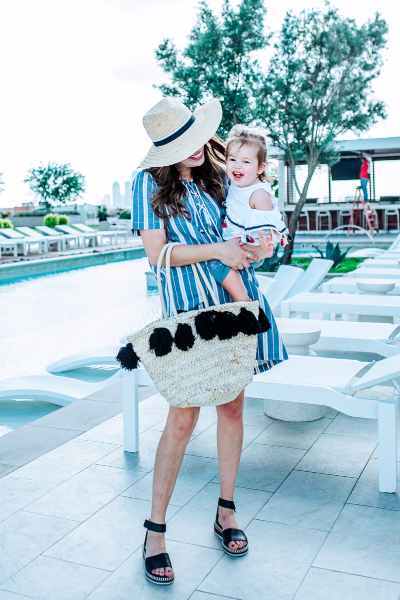 a1390eff0 I still can't get over this precious little outfit of Annie's! This tassel  top & nautical printed pant are part of a set and come together.