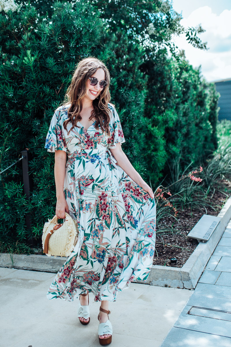 A Floral Maxi Dress Under 50 Lone Star Looking Glass