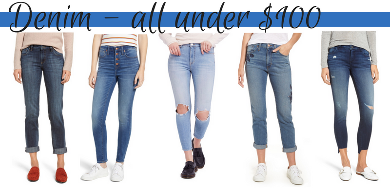 5a6146e269 The best in denim under  100 from the Nordstrom Anniversary Sale 2018