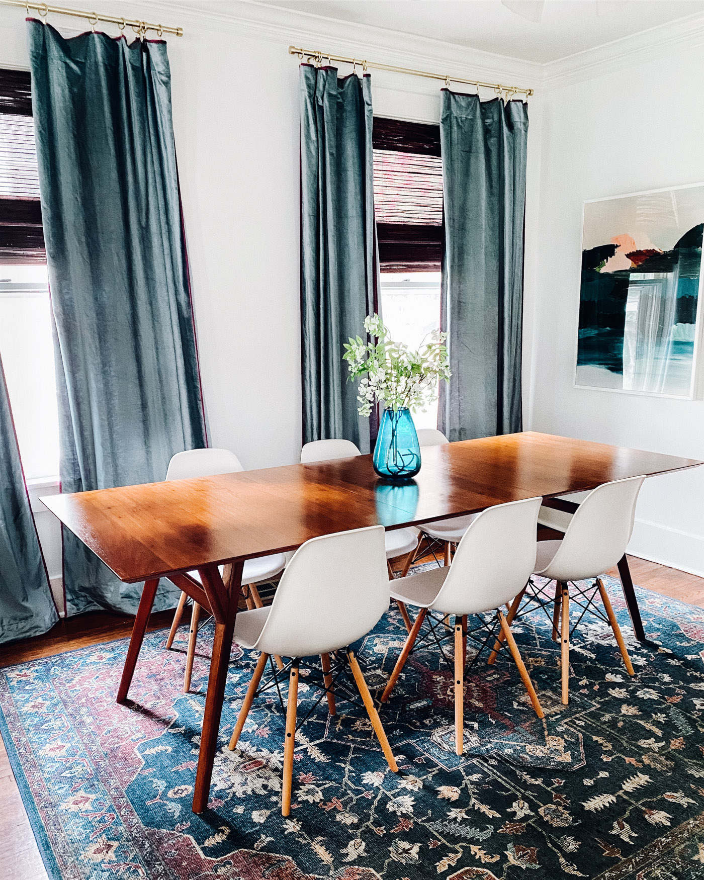 Mid Century Dining Room Life And, Mid Century Modern Dining Room Table